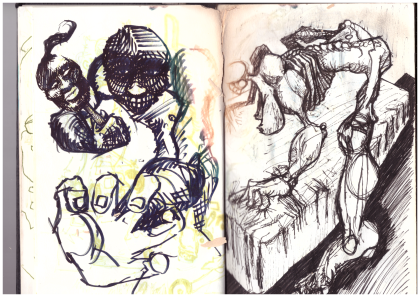 Sketchbook August 1995 - 10