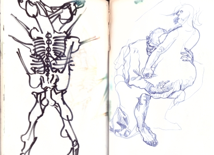 Sketchbook August 1995 - 28