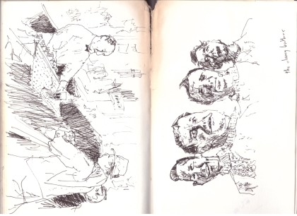 Sketchbook August 1995 - 96